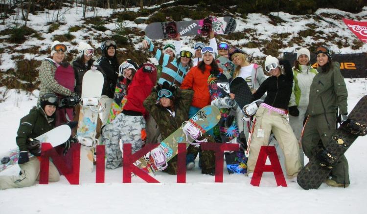 Nikita snowboard camp