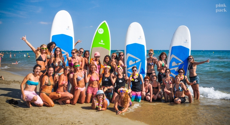 stand up paddle - stand up rising - la grande motte