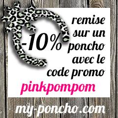 MY PONCHO - code promo
