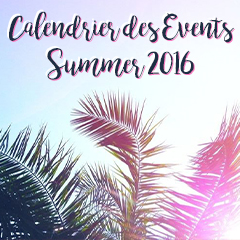 CALENDRIER EVENTS PINK PACK