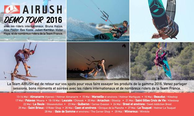 AIRUSH TOUR 2016