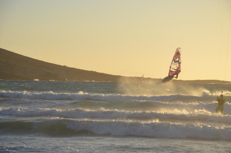 kitesurf Rhodes pink pack