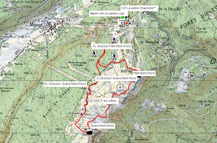 Map rando Jura