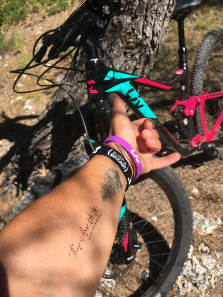 Pink Pack Mountain Bike Session Avoriaz MTB